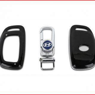 Ốp vỏ chìa khóa xe Hyundai (Đen)