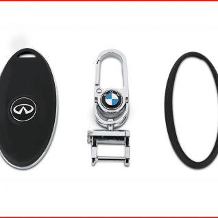 Ốp vỏ chìa khóa xe Infiniti (Đen)
