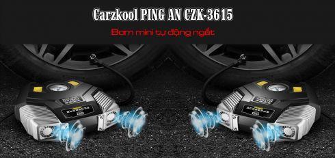 Bơm mini tự động ngắt Carzkool PING AN CZK-3615