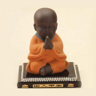 Tượng Phật trẻ con loại mới (Cam)