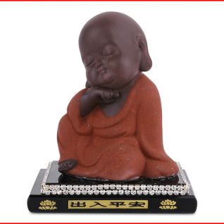 Tượng Phật trẻ con loại mới (Nâu đỏ)