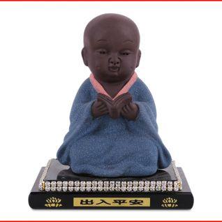 Tượng Phật trẻ con loại mới (Xanh da trời)