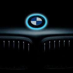 Logo BMW phát sáng