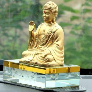 Tượng Đức Phật Như Lai trang trí ô tô