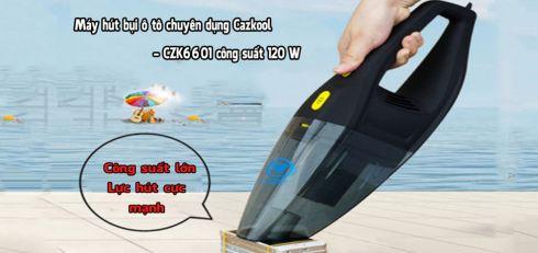 Máy hút bụi ô tô chuyên dụng Cazkool - CZK6601 công suất 120 W