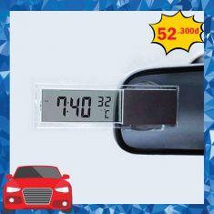 Đồng hồ dán kính ô tô