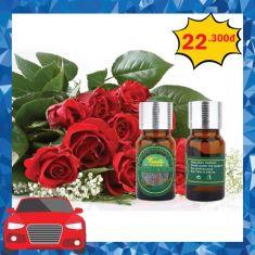 Tinh dầu Aromatic World hoa hồng 10ml