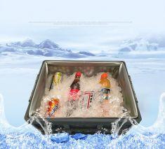 Hộp đựng đồ cốp xe ô tô gấp gọn Autolabs - có nắp, có túi giữ nhiệt