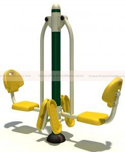 Bộ thiết bị tập chân 2 ghế ngồi