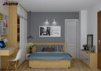 Thiết kế nội thất phòng ngủ chung cư VOV