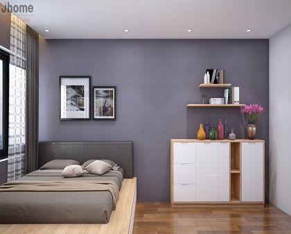 Thiết kế nội thất phòng ngủ chung cư Imperia Garden - Nội thất Jhome