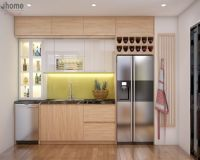 Thiết kế nội thất phòng bếp chung cư Imperia Garden - Nội thất Jhome