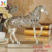 Ngựa mạ bạc DTS-12
