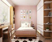 Thiết kế nội thất phòng ngủ trẻ em chung cư Mipec Long Biên - Nội thất Jhome