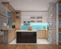 Thiết kế nội thất phòng bếp chung cư Capital Garden - Nội thất Jhome