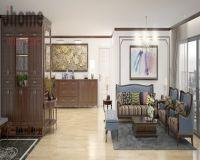 Thiết kế nội thất chung cư Mipec Long Biên - Nội thất Jhome