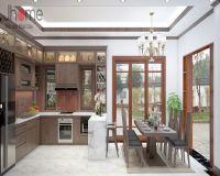 Thiết kế nội thất phòng bếp biệt thự Vinhomes - Nội thất Jhome