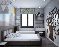 Thiết kế nội thất phòng ngủ trẻ em chung cư Ecolife Capitol - Nội thất Jhome