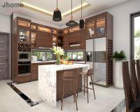 Thiết kế nội thất phòng bếp biệt thự Ecopark - Nội thất Jhome