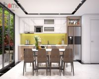 Thiết kế nội thất phòng bếp nhà phố hiện đại - Nội thất Jhome