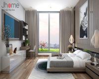 Thiết kế nội thất phòng ngủ nhà phố hiện đại - Nội thất Jhome