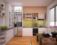 Thiết kế nội thất phòng bếp nhà phố Lâm Du - Nội thất Jhome