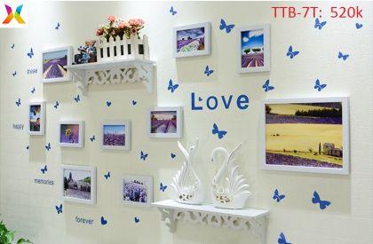 Bộ khung tranh treo tường TTB-7T