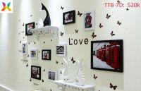 Bộ khung tranh treo tường TTB-7D