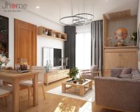 Thiết kế nội thất phòng khách Park Hill - Nội thất Jhome