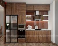 Thiết kế nội thất phòng bếp chung cư tòa L3 Ciputra - Nội thất Jhome
