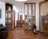 Thiết kế nội thất chung cư nhà chị Dung Capital Garden - Nội thất Jhome
