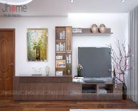 Thiết kế nội thất phòng khách nhà chị Dung chung cư Capital Garden - Nội thất Jhome
