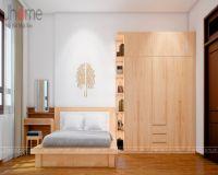 Thiết kế nội thất phòng ngủ nhà phố Kim Hoa - Nội thất Jhome