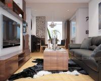 Thiết kế nội thất phòng khách chung cư Park Hill nhà chị Giang - Nội thất Jhome