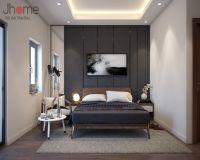 Thiết kế nội thất phòng ngủ master biệt thự Ecopark nhà chị Phương - Nội thất Jhome