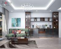 Thiết kế, thi công nội thất phòng khách chung cư Ecolife Capitol - Nội thất Jhome