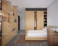 Thiết kế, thi công nội thất phòng ngủ master chung cư Ecolife Capitol - Nội thất Jhome