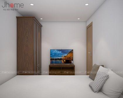 Thiết kế & thi công nội thất phòng ngủ diện tích nhỏ - Nội thất Jhome