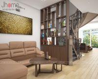 Thiết kế nội thất phòng khách nhà phố Nguyễn Thị Định - Nội thất Jhome