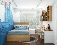 Thiết kế, thi công nội thất phòng ngủ con trai chung cư Park 9 Park Hill - Nội thất Jhome
