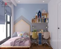 Thiết kế nội thất phòng ngủ con gái lớn chung cư Imperia Garden - Nội thất Jhome