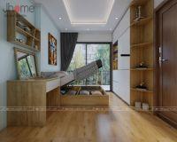 Thiết kế, thi công nội thất phòng ngủ master chung cư Vinhomes Gardenia - Nội thất Jhome
