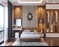 Thiết kế nội thất phòng ngủ nhà phố sang trọng - Nội thất Jhome