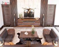 Thiết kế nội thất phòng khách biệt thự ở Quảng Ninh - Nội thất Jhome