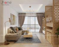 Thiết kế nội thất phòng khách chung cư Vimeco - Nội thất Jhome