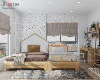 Thiết kế nội thất phòng ngủ master chung cư Vimeco - Nội thất Jhome