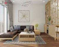 Thiết kế nội thất phòng khách biệt thự Park City - Nội thất Jhome