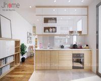 Thiết kế nội thất phòng bếp chung cư Mandarin Garden 2 - Nội thất Jhome