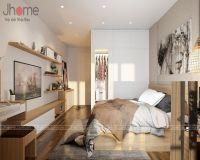 Thiết kế nội thất phòng ngủ master chung cư Mandarin Garden 2 - Nội thất Jhome