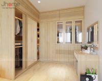 Những mẫu tủ quần áo gỗ sồi đẹp - Nội thất Jhome